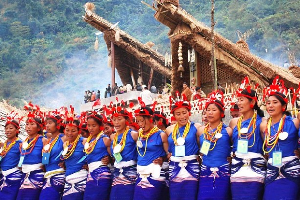 Nagaland Tourist Places - 1 Horn bill festival