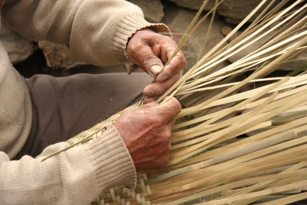 Nagaland Tourist Places 2 - Basket Weaving